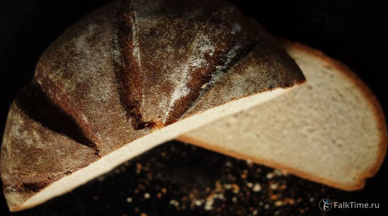 Рецепт пшенично-ржаного хлеба