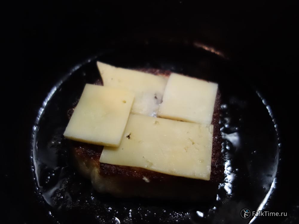 Гренки с сыром, рецепт