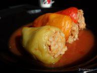 Рецепт перцев, фаршированных мясом и рисом