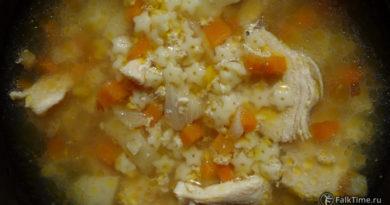 Рецепт куриного супа со звездочками