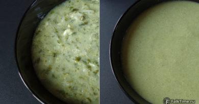 Сырный суп и крем-суп со шпинатом
