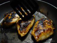 Куриное филе на сковороде