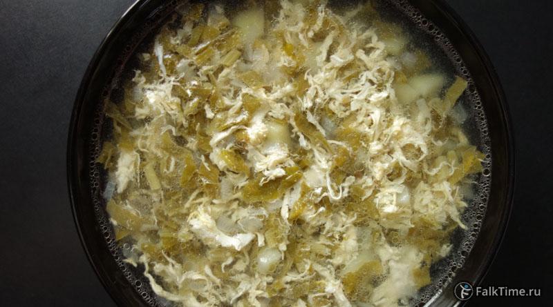 Щавелевый суп, рецепт
